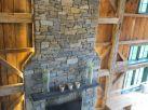 New stone chimney