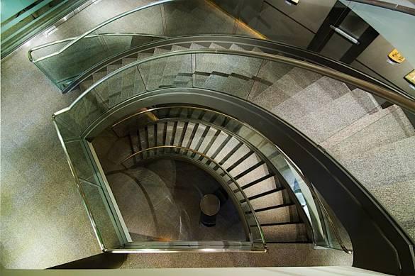 Museum stair